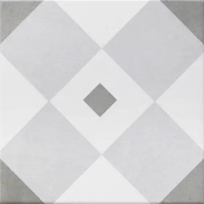 Piastrella Gatsby 20 x 20 cm bianco grigio prezzi e
