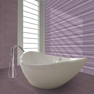 Piastrella Kolor 30 x 60 cm viola prezzi e offerte online