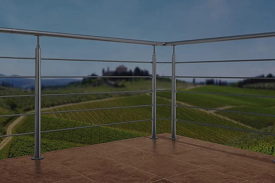 Mrinox è lo specialista del settore nel design e nella realizzazione di ringhiere acciaio di ogni tipo, inclusa la produzione di parapetti in acciaio come soluzione alle diverse esigenze architettoniche. Ringhiere Balaustre Corrimano Come Scegliere Leroy Merlin