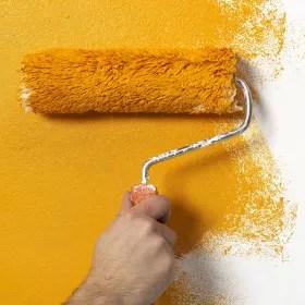 le pareti devono essere pulite prima della tinteggiatura. Come Scegliere Rulli E Pennelli Per Imbiancare Leroy Merlin