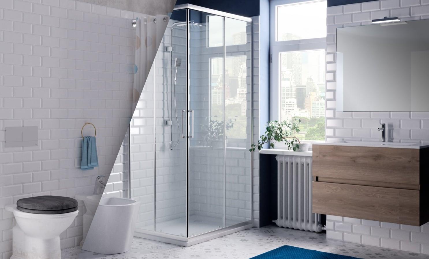 Da sapere, per rinnovare il bagno. Rinnovo Del Bagno Con Bagno Facile Leroy Merlin