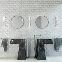 Piastrella Metro 75 x 15 cm bianco prezzi e offerte online  Leroy Merlin