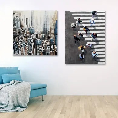 Perfetti da essere sistemati nella camera da letto, i quadri religiosi sono anche adatti per essere attaccati in cucina, in prossimità del vano in cui tenete il. Quadri E Stampe Prezzi E Offerte Online Leroy Merlin 38