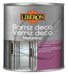 Barniz para melamina 500 ml Libéron DECO MELAMINA GRIS