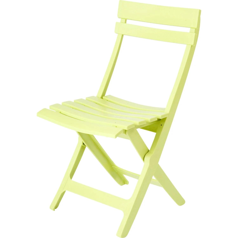 Chaise De Salon De Jardin Vert Anis | Table Table De Jardin Vert ...