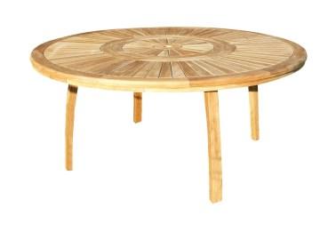 Table De Jardin Ronde Haut De Gamme   Table De Jardin Ronde Comparer ...