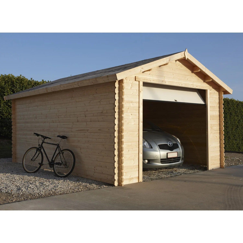 Garage Bois Nova 1 Voiture, 1691 M²  Leroy Merlin