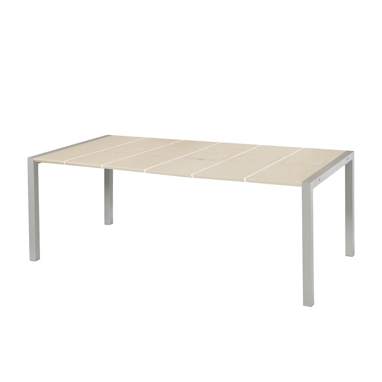Table De Jardin Pliante Valise   Grosfillex Table De Jardin Vega ...