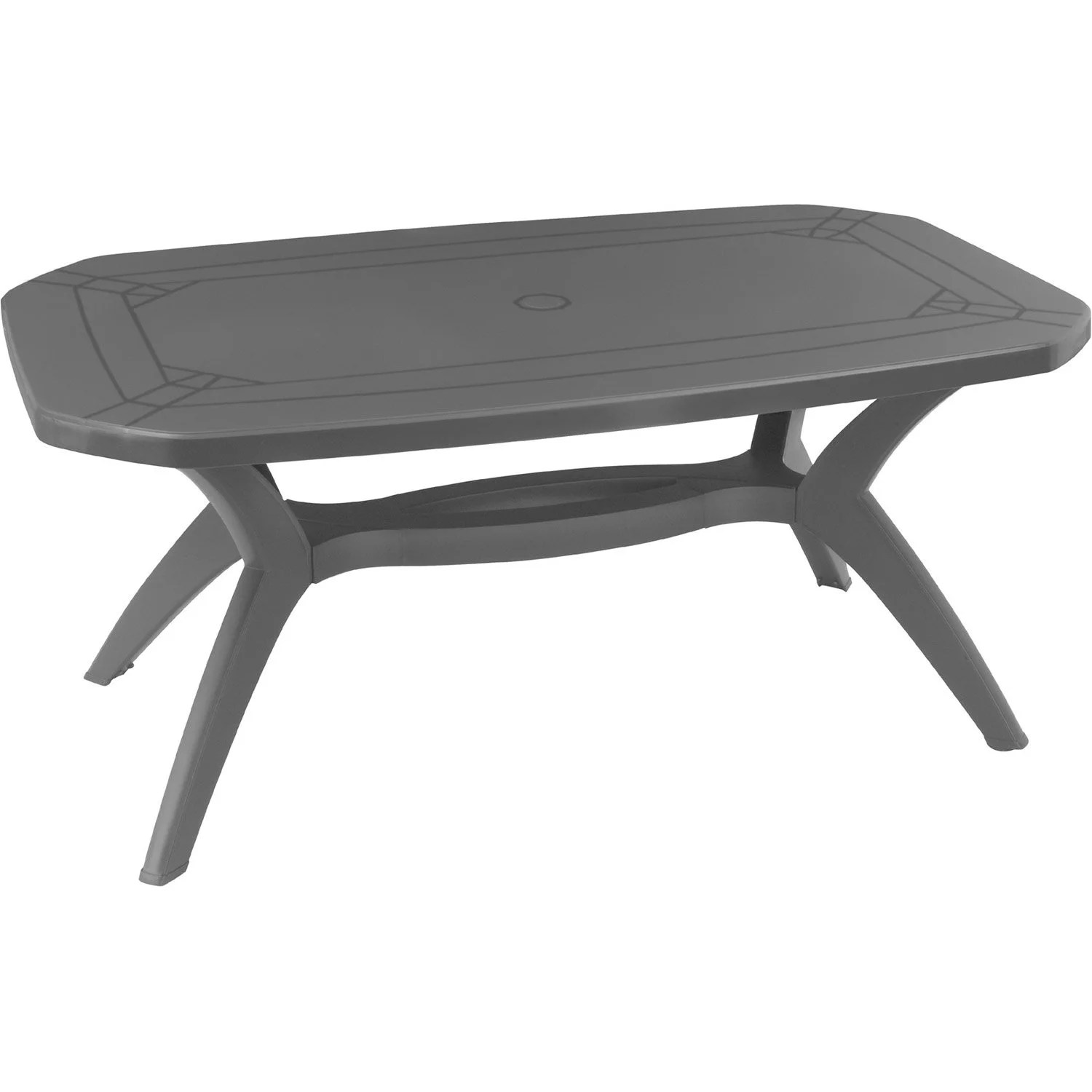 Table De Jardin Plastique La Redoute | La Table De Jardin Ou Table ...