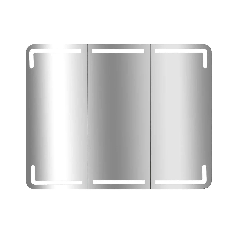 Armoire De Toilette Lumineuse, Blanc, L75 Cm Estrella