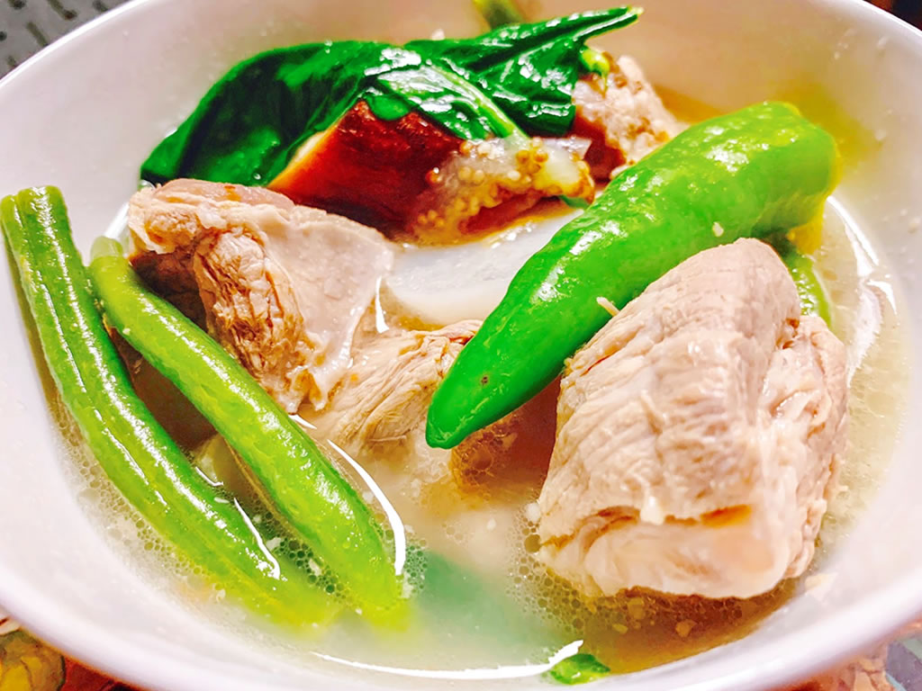 Pork Sinigang Pork Sour Soup With Lemon Lerrie S Kitchen
