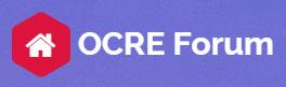 ocre forum logo
