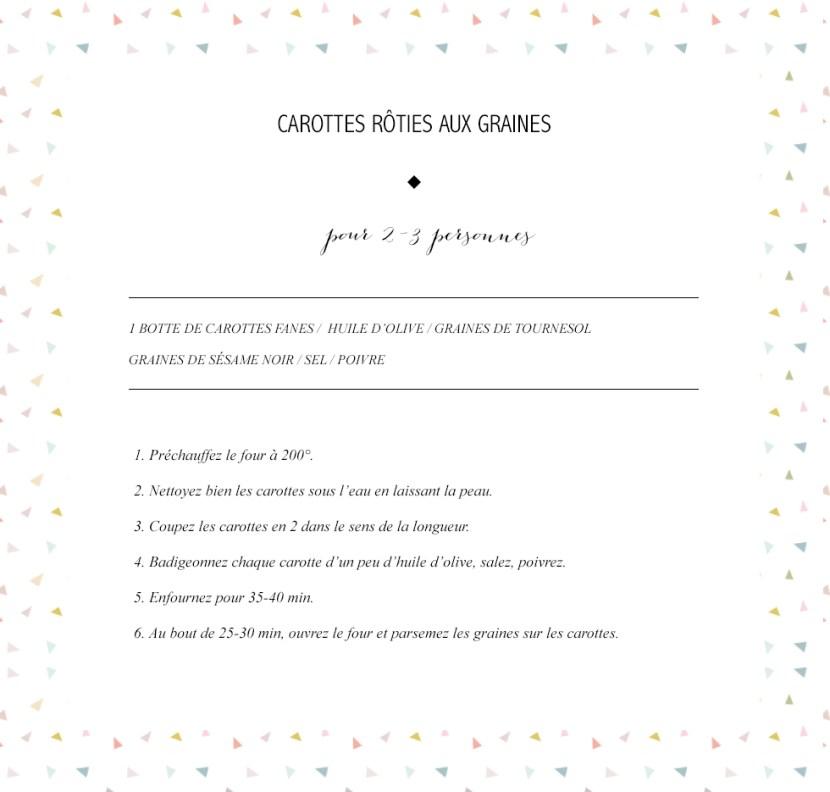 Carottes Roties