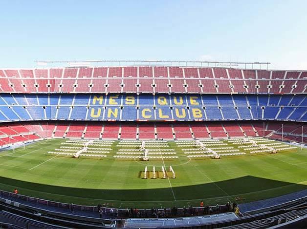 Le muse du FC Barcelone au Camp Nou