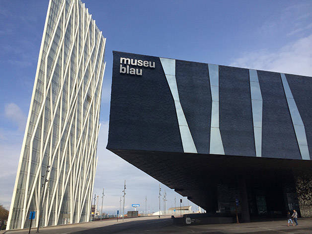 Museu Blau Le Muse Des Sciences Naturelles De Barcelone