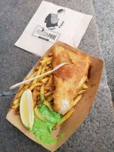 Poisson Paré Fish and chips Nantes