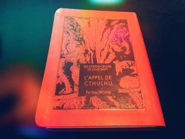 L'appel de Cthulhu- HP Lovecraft - Gou tanabe - les-carnets-dystopiques.fr