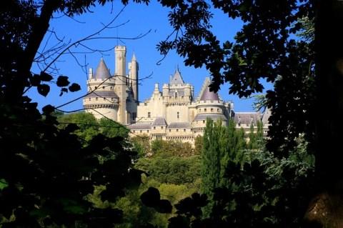 Château Pierrefonds et le nid de bisons
