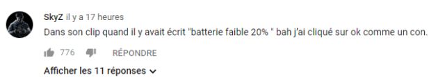 Exemple commentaire