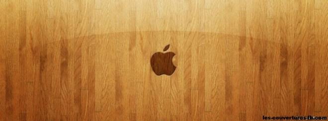 Apple-photo de couverture journal Facebook