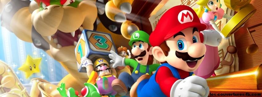Affiche Mario Party 9 Photo De Couverture Facebook