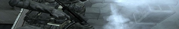 Call Of Duty 4 Modern Warfare - Soldat en tenue Couverture Facebook