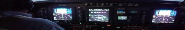 tableau de bord avion-Photo de couverture journal Facebook