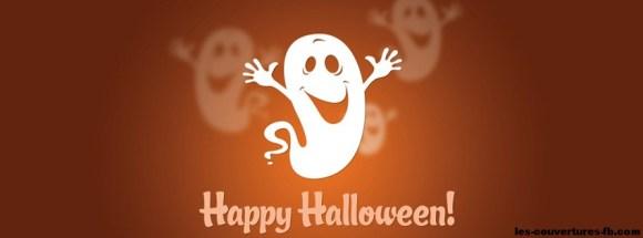 Joyaux halloween des fantômes - Photo de couverture journal Facebook
