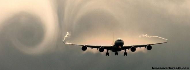 Airbus_A340 - Photo de couverture journal Facebook