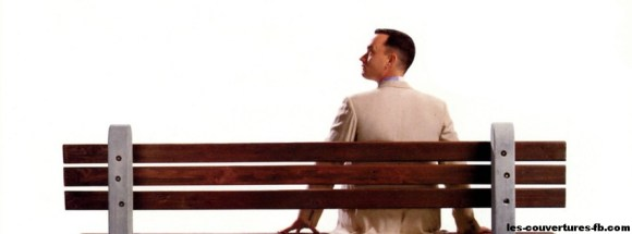 seul sur un banc-photo de couverture journal facebook