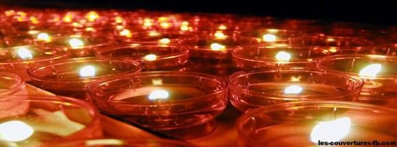 Bougies pour Noël-photo de couverture journal facebook