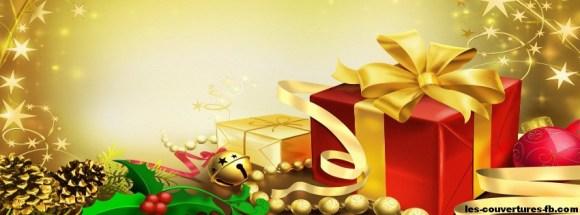 Cadeaux pour Noël-photo de couverture journal facebook