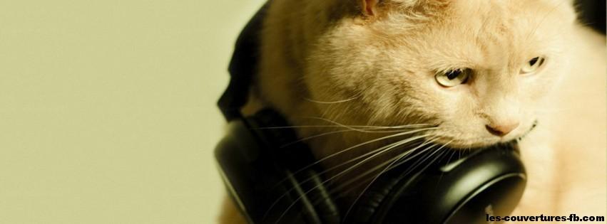 DJ Cat -Photo de couverture journal Facebook