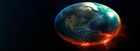 Terre qui brûle  -Photo de couverture journal Facebook