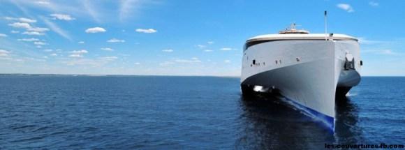 catamaran sea ferry-Photo de couverture journal Facebook