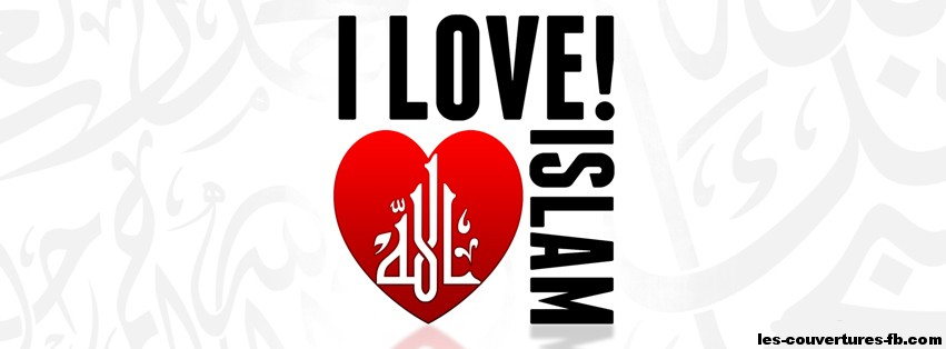 i love islam-Photo de couverture journal Facebook