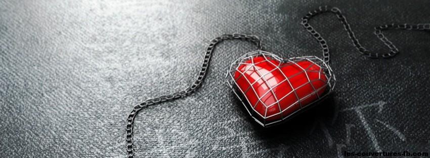 coeur prisonnier - photo de couverture journal facebook
