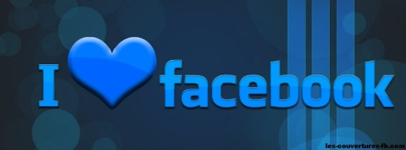 i love fb-Photo de couverture journal Facebook