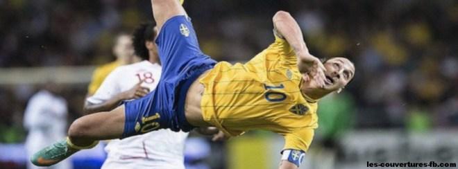 Zlatan en suède -Photo de couverture journal Facebook