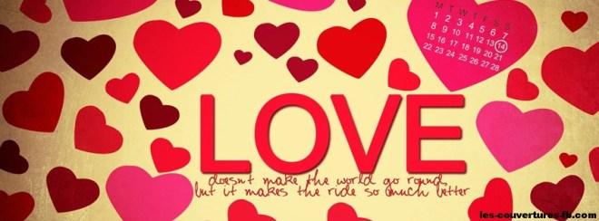 Coeur love couv facebook