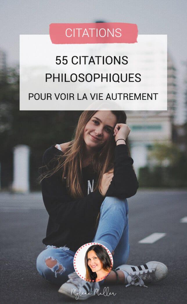 Citation Philosophique Sur La Vie : citation, philosophique, Citations, Philosophiques, Autrement