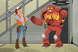 Robo and Dallas avec John Cena
