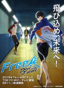 Free ! Drive to the Future, Free ! - (123)