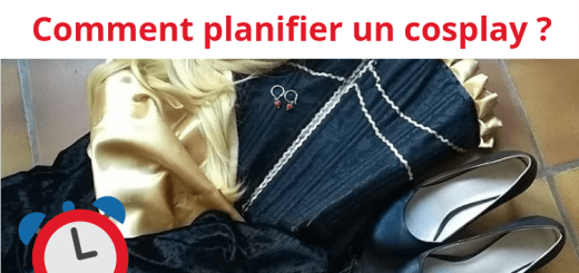 Comment planifier un cosplay costume