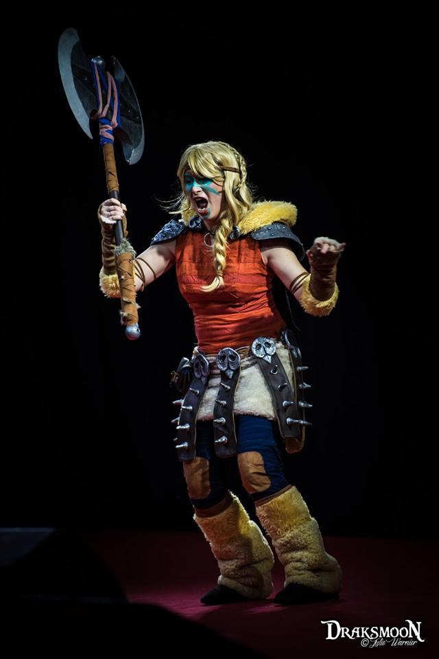 Astrid (Dragons 2) par Meuh'py
