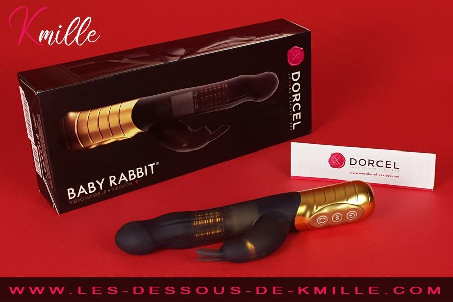 Kmille teste le vibromasseur rabbit Baby Rabbit, de Dorcel.