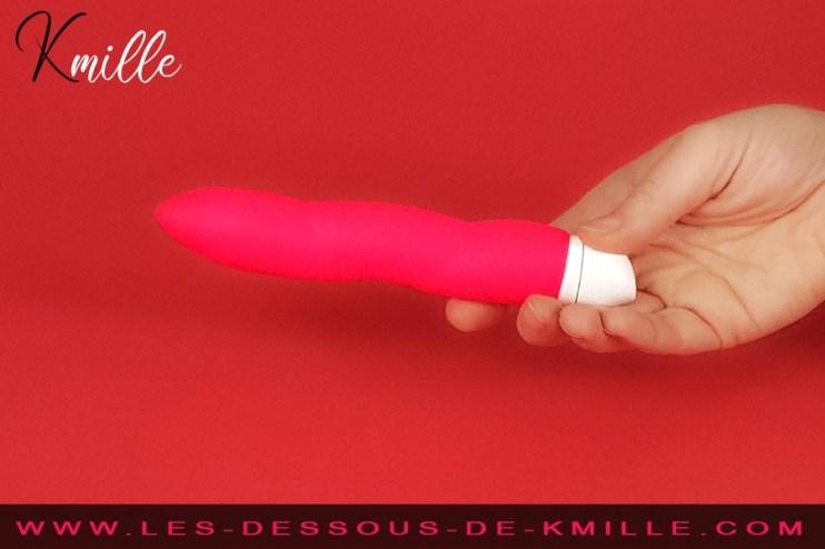 Kmille teste le vibromasseur Jazzie Smart Vibe, de Fun Factory.