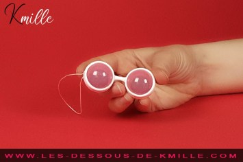 Test des boules de plaisir interchangeable, de la marque Lelo.