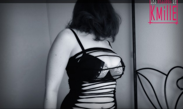 Présentation de la mini robe Mandy Mystery très … ouverte !