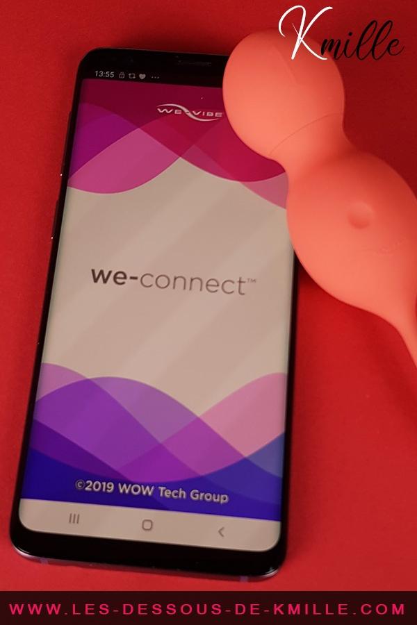 L'application We-Connect